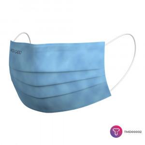 Mavi 3 Katlı Meltblown Telli Cerrahi Maske  ( Medi - Cado ) ÜTS KAYDI VARDIR