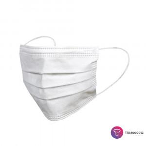 Beyaz 3 Katlı Meltblown Telli Cerrahi Maske